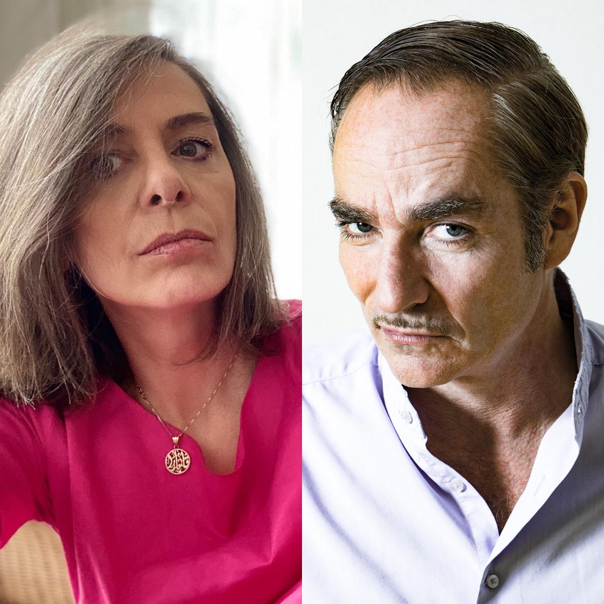 Claudia Basrawi (Foto: Claudia Basrawi) & Ted Gaier (Foto: Frank Egel)